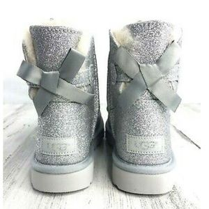🆕 UGG Mini Bailey Bow Sparkle Boots